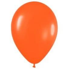 Шар (15''/38 см) Оранжевый (061), пастель, 50 шт.