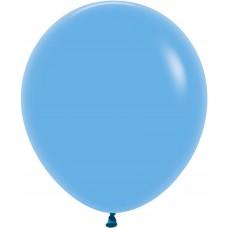 Шар (18''/46 см) Голубой (040), пастель, 25 шт.