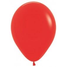 Шар (18''/46 см) Красный (015), пастель, 25 шт.