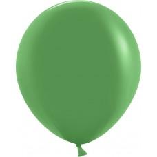 Шар (18''/46 см) Зеленый, пастель, 25 шт.