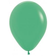 Шар (18''/46 см) Зеленый (030), пастель, 25 шт.