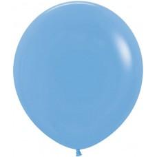 Шар (36''/91 см) Голубой (040), пастель, 10 шт.