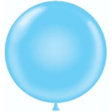 Шар (36''/91 см) Голубой, пастель, 10 шт.