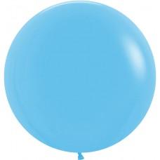 Шар (36''/91 см) Голубой (040), пастель, 2 шт.