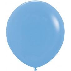 Шар (36''/91 см) Голубой (040), пастель, 1 шт.