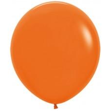 Шар (30''/76 см) Оранжевый (061), пастель, 4 шт.