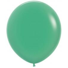 Шар (30''/76 см) Зеленый (030), пастель, 20 шт.