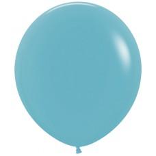 Шар (30''/76 см) Синяя бирюза (038), пастель, 4 шт.