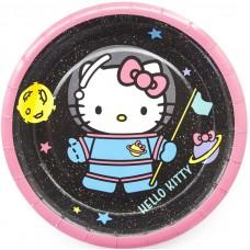 Тарелки (7''/18 см) Hello Kitty, С Днем Рождения!, 6 шт.