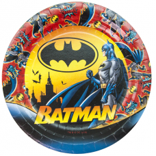 Тарелки (7''/18 см) Бэтмен, 6 шт.