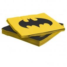 Салфетки, Бэтмен, 33*33 см, 12 шт.