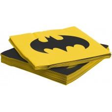 Салфетки, Бэтмен, 33*33 см, 20 шт.