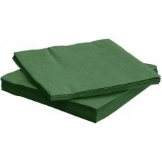 Салфетки, Bouquet Elegance, Зеленый, 33*33 см, 25 шт.