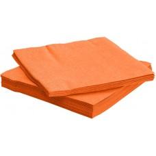 Салфетки, Bouquet Elegance, Оранжевый, 33*33 см, 25 шт.