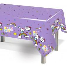 Скатерть, Hello Kitty, Сиреневый, 120*180 см, 1 шт.