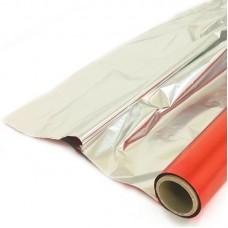 Полисилк (1*20 м) Красный/Серебро, 1 шт.