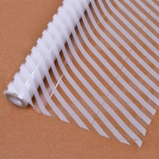 Упаковочная пленка (0,7*7,5 м) Диагональ, Белый, 1 шт.