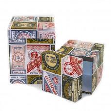 Набор коробок Этикетки, Модные лейблы, 13*13*17 см, 2 шт.