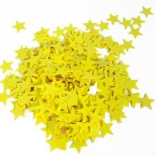 Конфетти Звезды, Желтый, 17 гр