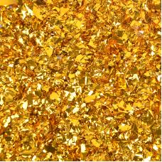 Конфетти фольга Блестки, Золото, 20 гр.
