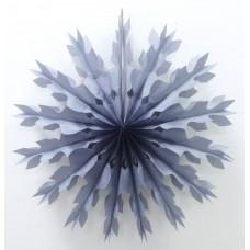 Диск, Снежинка, Серый (16''/41 см) 1 шт.
