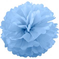 Помпон, Голубой (14''/36 см) 1 шт.