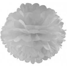 Помпон, Белый (14''/36 см) 1 шт.