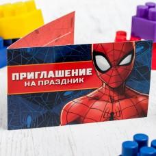 Приглашение на праздник, Человек-Паук, 10 шт.