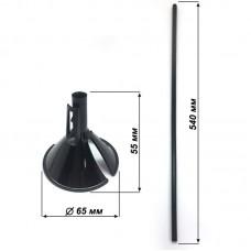 Набор палочка+насадка, Черный, макси, 40 шт.