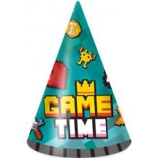 Колпаки Game Time, Пиксели, 6 шт.