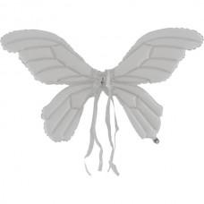 Шар-Крылья (36''/91 см) Бабочка, Белый, 1 шт.
