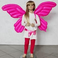Шар-Крылья (36''/91 см) Бабочка, Розовый, 1 шт.