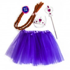 Набор (ободок, косичка, юбочка, волшебная палочка) Принцесса Алексия, 1 шт.