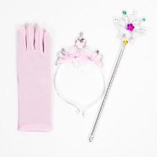 Карнавальный набор Принцесса, Розовый, 1 шт.