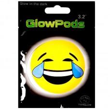 Светящаяся наклейка, Смайл (смех и слезы)