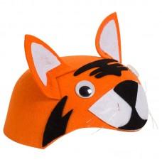 Шляпа Тигренок, Оранжевый, 1 шт.