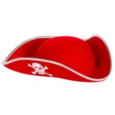 Шляпа Пират, Красный